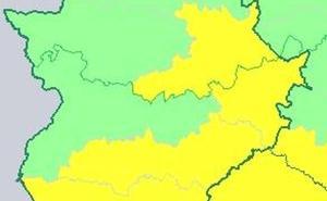 Extremadura permanece en alerta por tormentas hasta esta noche