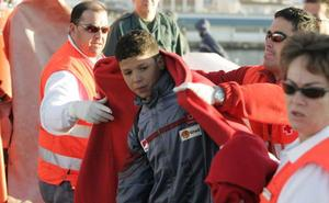 Aumenta el 60% el número de menores no acompañados que llegaron a España