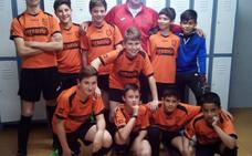 El Losareño alevín, subcampeón regional