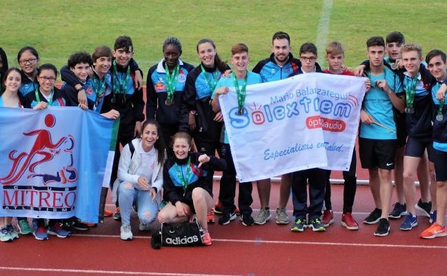 El Club de Atletismo Mitreo logra 31 medallas en en los Judex
