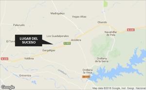 Cuatro heridas, una de ellas crítica, en una salida de vía entre Los Guadalperales y Gargáligas
