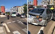 Heridas dos mujeres y un niño de 8 años en un accidente por alcance en Mérida