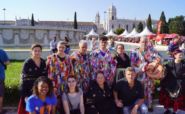 Jarramplas y el Carnaval Hurdano desfilaron en Lisboa