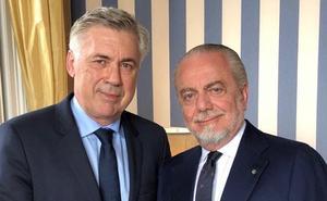 Ancelotti acepta el reto del Nápoles y firma por tres campañas