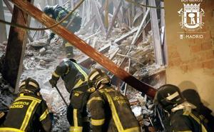 Se cumplen 24 horas del derrumbe en Madrid sin hallar al obrero extremeño y su compañero