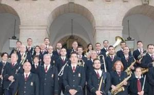 Concierto de música militar y popular en el Gran Teatro de Cáceres
