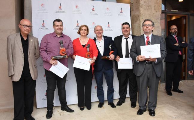 Entrega de los Premios de la Asociación de Gastronomía de Extremadura