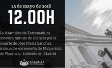 La Asamblea convoca un minuto de silencio por la muerte del obrero fallecido en Madrid