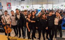 Los alumnos del Castelar llevan los versos de Lorca a San Francisco
