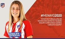Carmen Menayo renueva hasta 2020 con el Atlético de Madrid