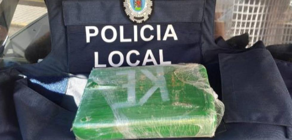 Detenido por un policía local de Badajoz con 1.164 gramos de cocaína de gran pureza