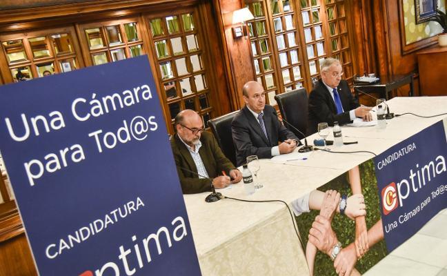 Presentan la candidatura 'Óptima' para la Cámara de Comercio de Badajoz