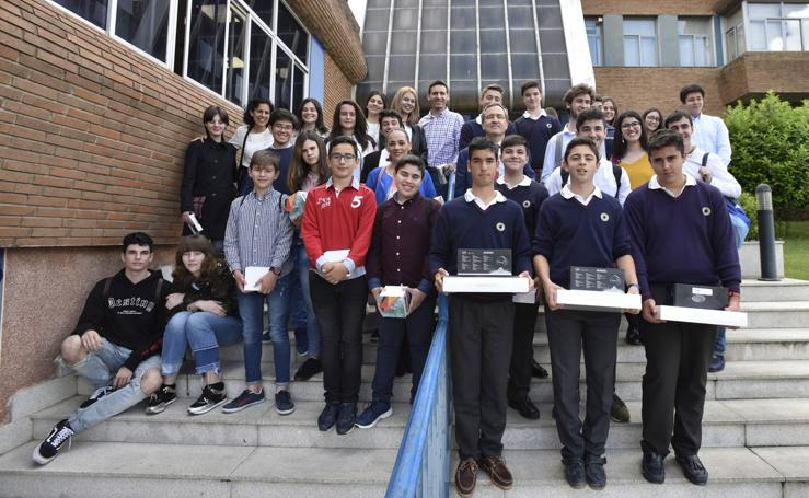 'The Newspaper' vuelve a ganar el concurso escolar de HOY
