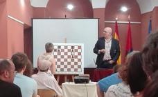 Juan Antonio Montero, del Magic, imparte en Burgos una conferencia sobre entrenamiento cognitivo basado en el ajedrez