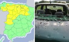 La provincia de Cáceres se encuentra en aviso amarillo por tormenta y lluvias