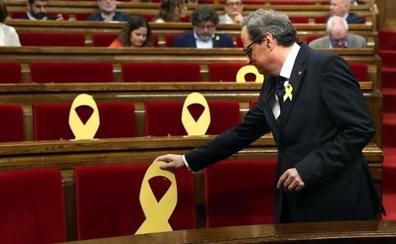 Torra pide por carta a Rajoy que ponga fin al 155