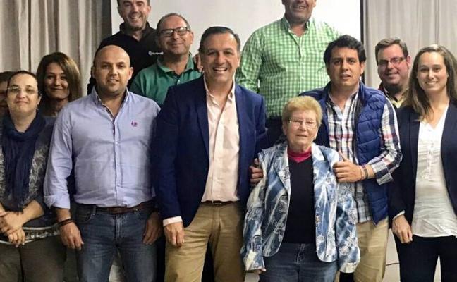 Joaquín Barrero, nuevo presidente del Partido Popular
