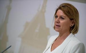 Cospedal achaca la moción de censura a intereses «partidistas» y «personales»