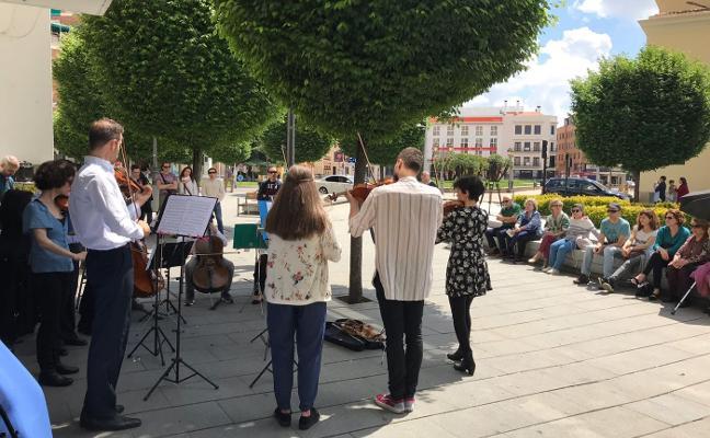 El Festival Ibérico saca la música a la calle