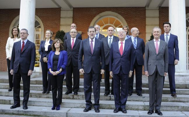Tres bajas en el Gobierno de Rajoy