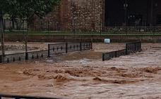 La lluvia vuelve a inundar Arroyo de San Serván