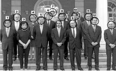 13 de 15, salpicados por la corrupción