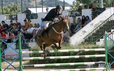 Última jornada del concurso hípico con motivo de la feria de Cáceres