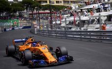 Alonso cae a la lona en Mónaco