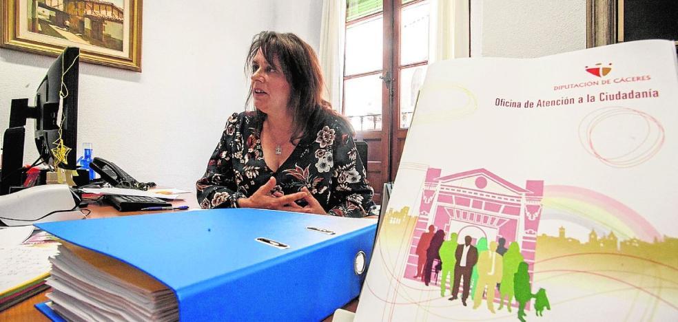 La Oficina Ciudadana de la Diputación recibe 1.500 consultas en cinco meses