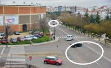 Los vecinos exigen que los cruces de la plaza de toros de Badajoz se conviertan en rotondas