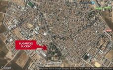Muere el conductor que sufrió una indisposición cuando conducía en Almendralejo