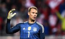 Austria amarga la vuelta de Manuel Neuer
