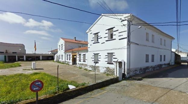 Casa cuartel de Torrecillas de la Tiesa. :: G. E./