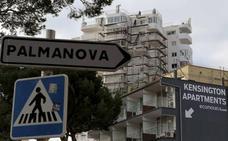 Fallece un joven irlandés tras caer de unos apartamentos en Magaluf