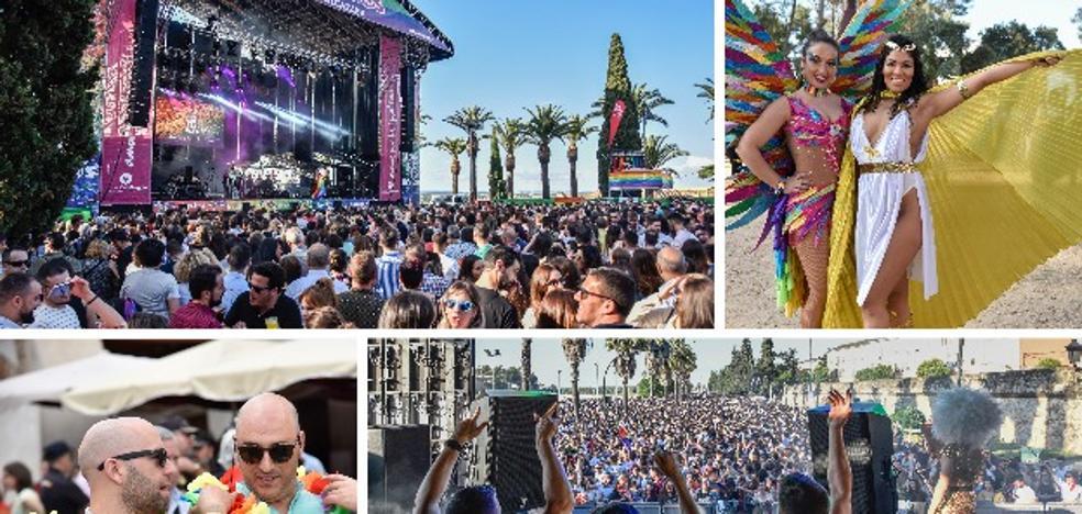 Los Palomos reúne a más de 25.000 personas en el centro de Badajoz