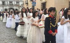 Nuevo recorrido del Corpus en Almendralejo