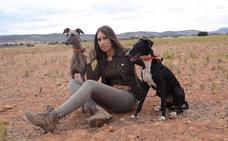 Patricia Sierra, pionera entre las mujeres cazadoras