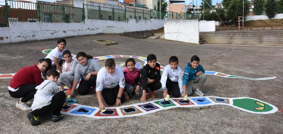 El colegio de Badajoz que lucha para superar la riada