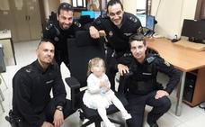 Una niña de 2 años deambula por Palencia tras permanecer hora y media en un coche estacionado