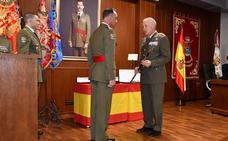 Entrega de mando al general de la Brimz