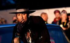 La mala pinta de Johnny Depp