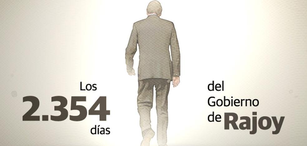 Luces y sombras del gobierno de Rajoy: notable en gestión económica y suspenso contra la corrupción
