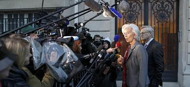 Lagarde sale airosa de su posible imputaci�n