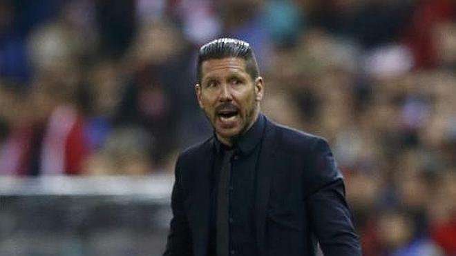 Simeone: «No pudimos encontrar el gol»