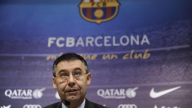 Bartomeu: «Messi es intransferible»