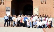 Un centenar de asociados de la Peña Taurina Luis Reina acompañaron a Emilio de Justo en Las Ventas