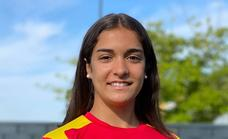 La karateca Paola García comienza esta semana la liga nacional en el País Vasco