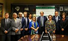 La Caixa Rural Vall San Isidro se integra en el grupo Solventia, liderado por Cajalmendralejo