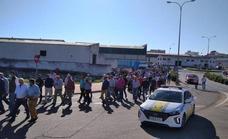 La jornada de protesta hace que se paralice la recogida de aceitunas en Tierra de Barros