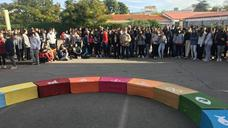 El IES Carolina Coronado celebra el día de los Objetivos de Desarrollo Sostenibel